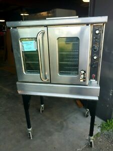 Apollo Single Deck Gas Commercial Convection Oven Montague Vectaire R85a Used