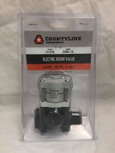 Countyline Solenoid Electric Boom Valve 10 Gpm 100 Psi 12v Ships Free