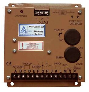 Electronic Engine Speed Controller Governor 5220e Generator Genset Parts fp