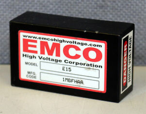 Emco High Voltage Corporation E15 Dc To High Voltage Dc Converter
