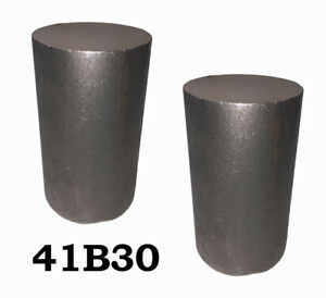 4 Round 4130 Steel Alloy boron Rolled Bars Billets 2 7 8 Long 41b30 H