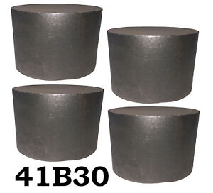 4 Round 4130 Steel Alloy boron Rolled Bars Billets 4 3 4 Long 41b30 H