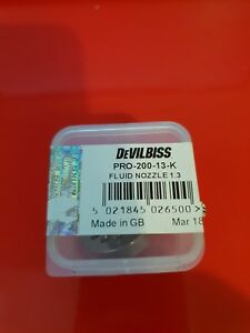 Devilbiss Fluid Tip Replacement 1 3mm Pro 200 13 K For Gti Pro Pro Lite