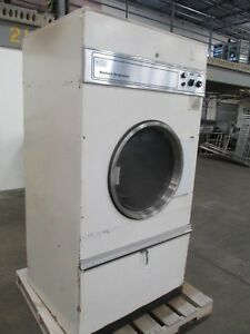 Huebsch Originators Commercial Dryer 37cgi Natural Gas 120 000btu 208v 60hz Used