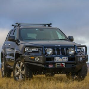 Arb Deluxe Winch Bumper For 2014 Jeep Grand Cherokee Wk2 3450420