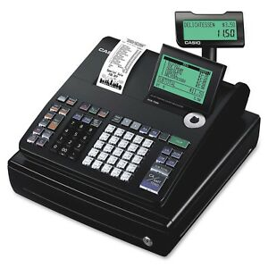 Casio Pcr t500 Electronic 10 line Display Cash Register