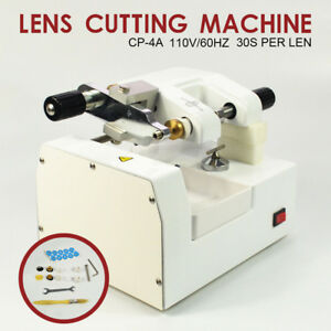 110v Cp 4a Optometry Eyeglass Optical Lens Cutter Cutting Milling Machine