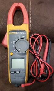 Fluke 374 True Rms Ac dc Clamp Meter With Test Leads