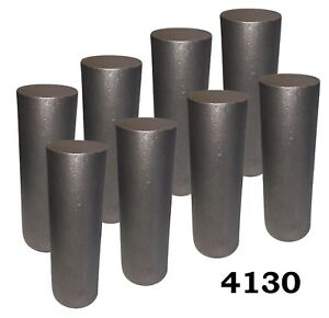 2 25 Round 4130 Steel Alloy Rolled Bars Billets 8 6 7 Lengths H