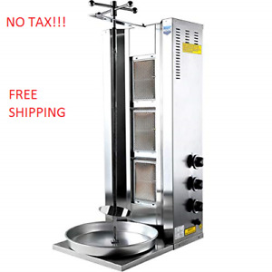 Commercial Restaurant Pastor Machine Heavy Duty Donar Kebab Grill Shawarma Unit