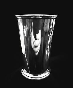 Vintage Sterling Silver Tall Mint Julep Cup Poor Condition