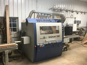Weinig Unimat 500 Moulder Tooling Included