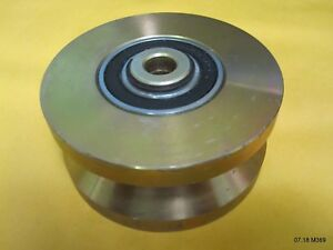 One 1 6205 2rs V Groove Guide Pulley 1 3 4 X 3 3 4 Od
