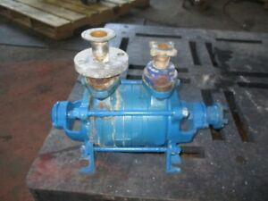 S c 1 Stainless Vacuum Pump 71623j No Tag Turns By Hand Used
