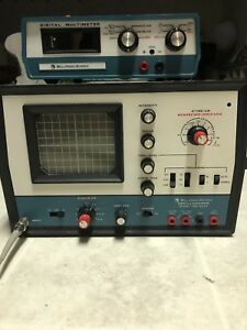 Bell And Howell Schools Oscilloscope And Digital Multimeter With Manual