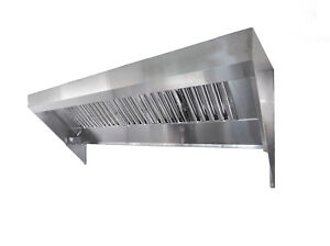 6 Food Truck Or Concession Trailer Exhaust Hood