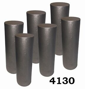2 25 Round 4130 Steel Alloy Rolled Bars Billets 6 7 8 Lengths H