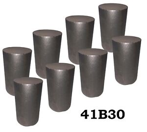 2 75 Round 4130 Steel Alloy boron Rolled Bar Billets 8 3 4 Long 41b30 H