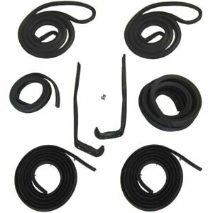 1954 Oldsmobile 98 4dr Sedan 1st Early Type Body Weatherstrip Seal Kit