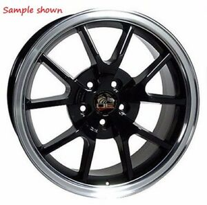 1 New 18 Replacement Rear Wheel For 1994 2004 Ford Mustang Fr500 Rim 24864