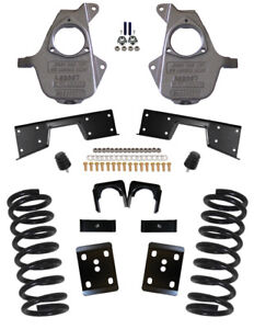Mcgaughys Chevy Silverado 5 7 Lowering Kit 2001 2007 Single Cab 16 Rims 93025