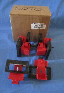 6 Brady 65321 New Oversize Circuit Breaker Lockouts 480 600v Frame