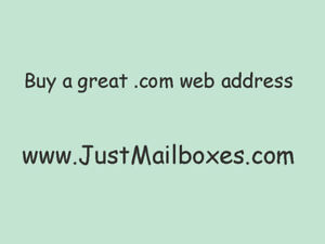 Mailbox Store Domain Name For Sale Justmailboxes com