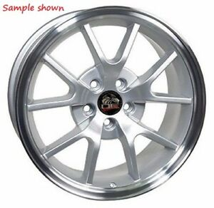 1 New 18 Replacement Rear Wheel For 1994 2004 Ford Mustang Fr500 Rim 24866