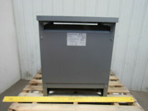 Dongan 63 633osh 30kva 3ph General Purpose Transformer 480v Pri 208y 120v Sec