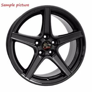1 New 18 Replacement Rear Wheel For 1994 2004 Ford Mustang Saleen Rim 24869