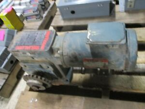 Reliance Gear Motor Frame Fd56c 3hp 1725rpm 230 460v 5 4 2 7a 60hz Used