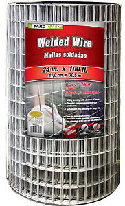 Yardgard 24 X 100 2 X 1 Mesh Galvanized Welded Wire 14 Gauge 567636