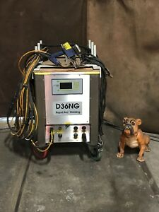 Silicon D36ng Rapid Arc Welding Stud Welder 3mm 36mm Capacity W 2 Stud Guns