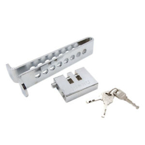 8 Hole Stainless Steel Anti Theft Device Clutch Lock Brake Safety Tool For Car