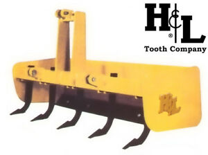 Box Blade Box Scraper 60 H l Tooth Co Heavy Duty With 5 Forged Scarifiers Usa
