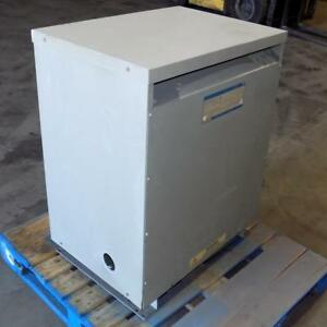 General Electric 3ph 480 To 208 120v 75kva Transformer 9t23q3074