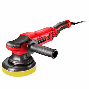 Powerbuilt 6 Inch Dual Action Orbital Long Throw Polisher With Electronic Speed