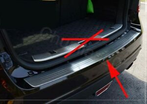 Door Sill Rear Bumper Protector Cover Trim For 2009 2014 Ford Edge 1pcs