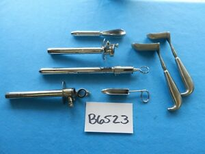 Welch Allyn Karl Storz Surgical Rectal Instruments Lot Of 7
