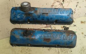 Ford Valve Covers Powered By Ford Scipt 390