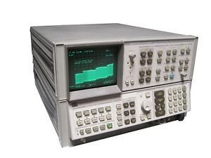 Hp Keysight Agilent 8566b 85662a Spectrum Analyzer Display System 100hz 2 5ghz