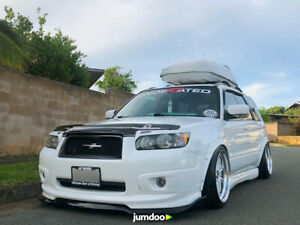 Fender Flares Jdm For Subaru Forester Wide Body Kit Wheel Arch 2 0 50mm 4pcs