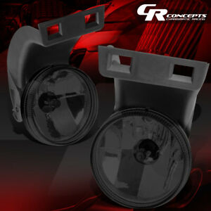 Left right Smoked Front Bumper Driving Fog Light lamps For 94 98 Dodge Ram Truck