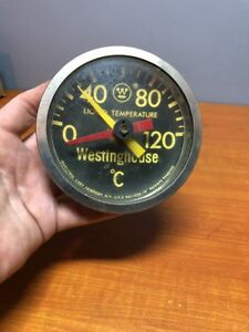 Vintage Westinghouse Liquid Temperature