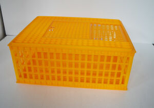 Poultry Chicken Transport Coop Crate Cage 170599