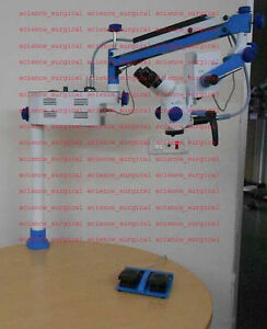 A 5 Step Portable Ent Surgical Microscope