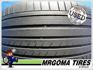 1 Dunlop Sp Sport Maxx Gt Mo Xl 295 30 20 Used Tire 75 Life Mercedes 2953020