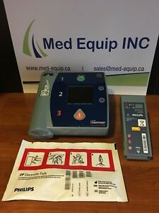 Aed Philips Fr2 With New Battery New Pads In Excellent Condition