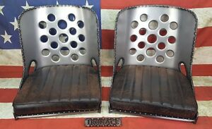 Kjj1954chevy Iron Ace 17 Rat Rod Bomber Seat S W Cushions Pick Up