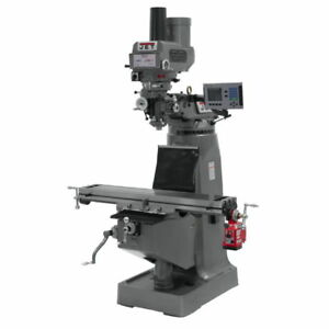 Jet 690251 Jtm 4vs Mill 3 axis Acu rite 200s Dro X axis Pwrfeed